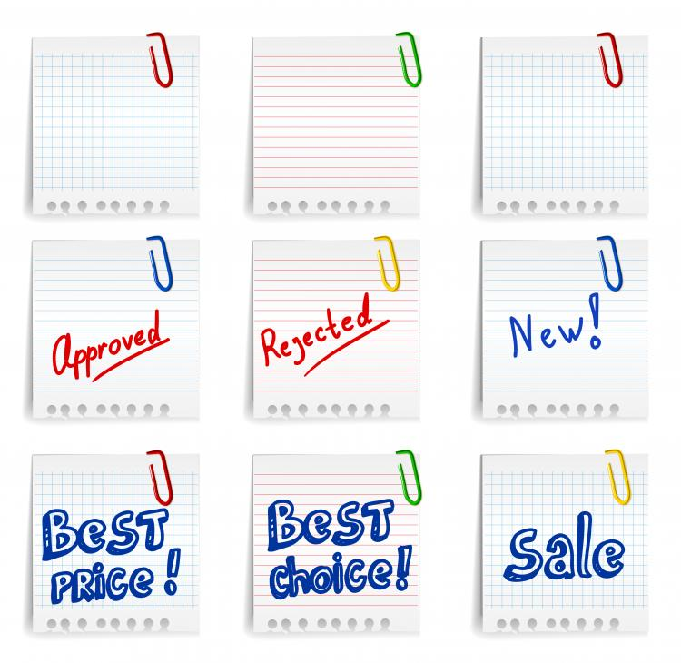 free vector Sticky 04 vector