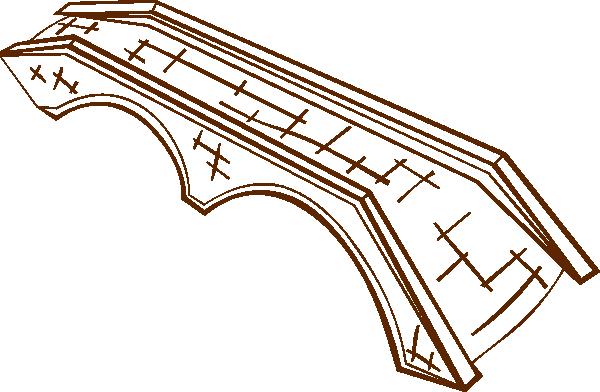 Stone Bridge clip art (110147) Free SVG Download / 4 Vector