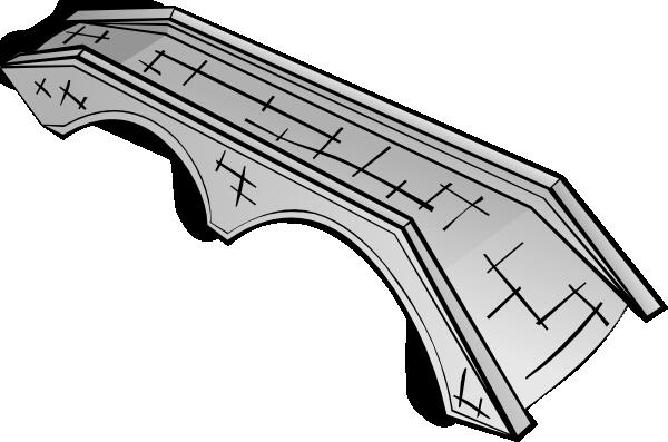 free vector Stone Bridge  clip art