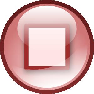 free vector Stop Audio Button Set clip art