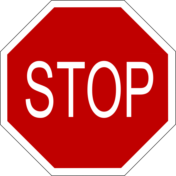 free vector Stop Sign clip art