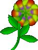free vector Strange Flower clip art