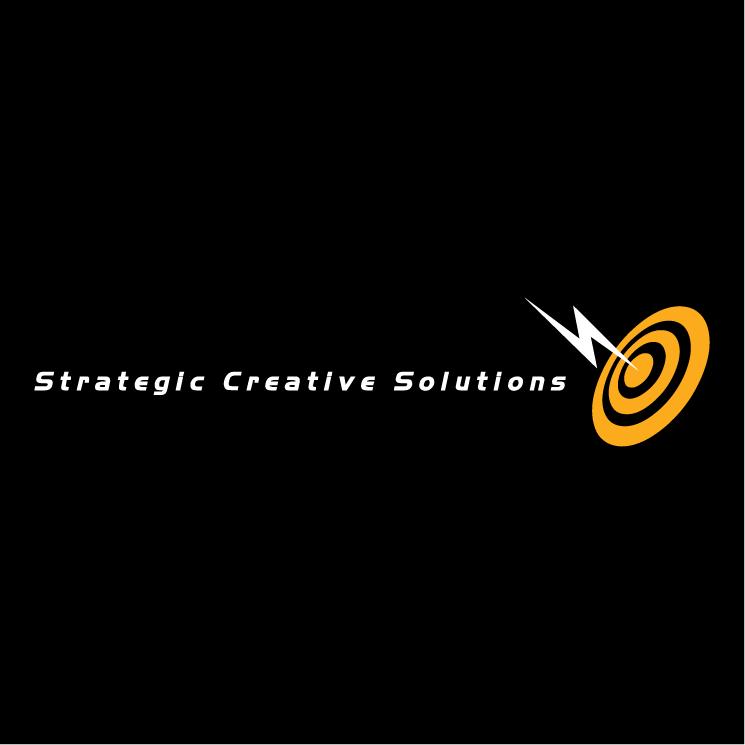 free vector Strategic creative solutins