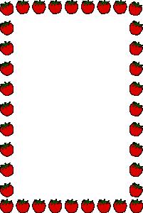 free vector Strawberry Border clip art