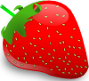 free vector Strawberry clip art 114648