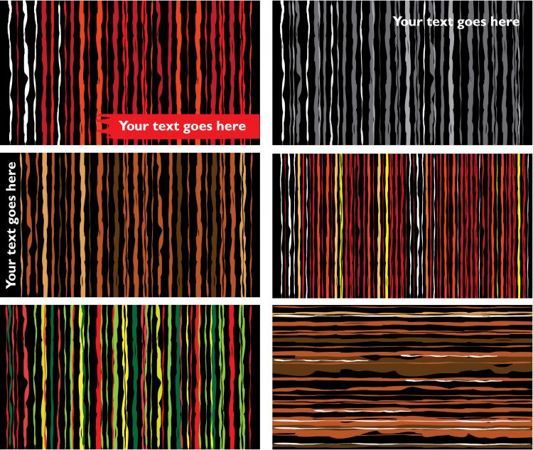 free vector Stripes abstract background vector