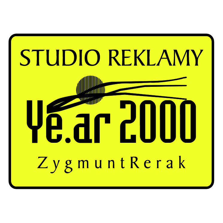 free vector Studio reklamy year 2000
