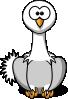 free vector Studiofibonacci Cartoon Ostrich clip art