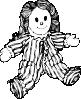 free vector Stuffed Doll clip art