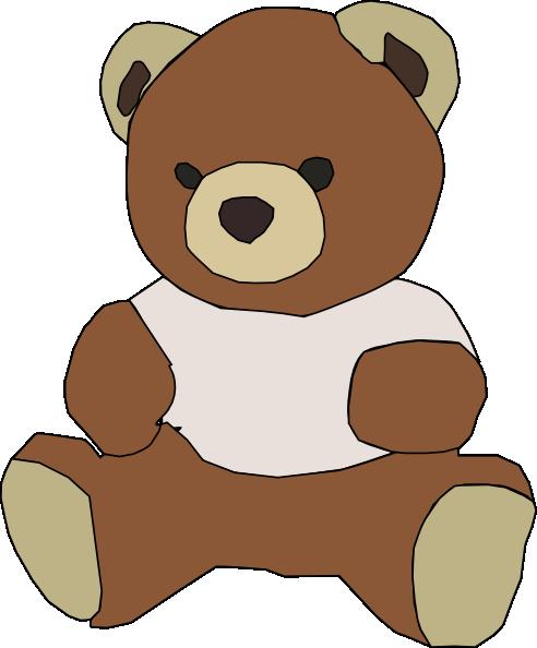 free vector Stuffed Teddy Bear clip art