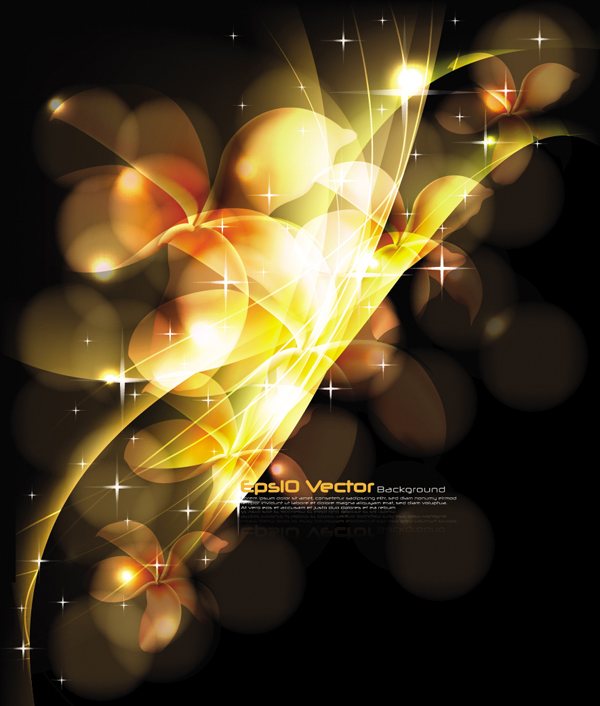 free vector Stunning dynamic background 01 vector