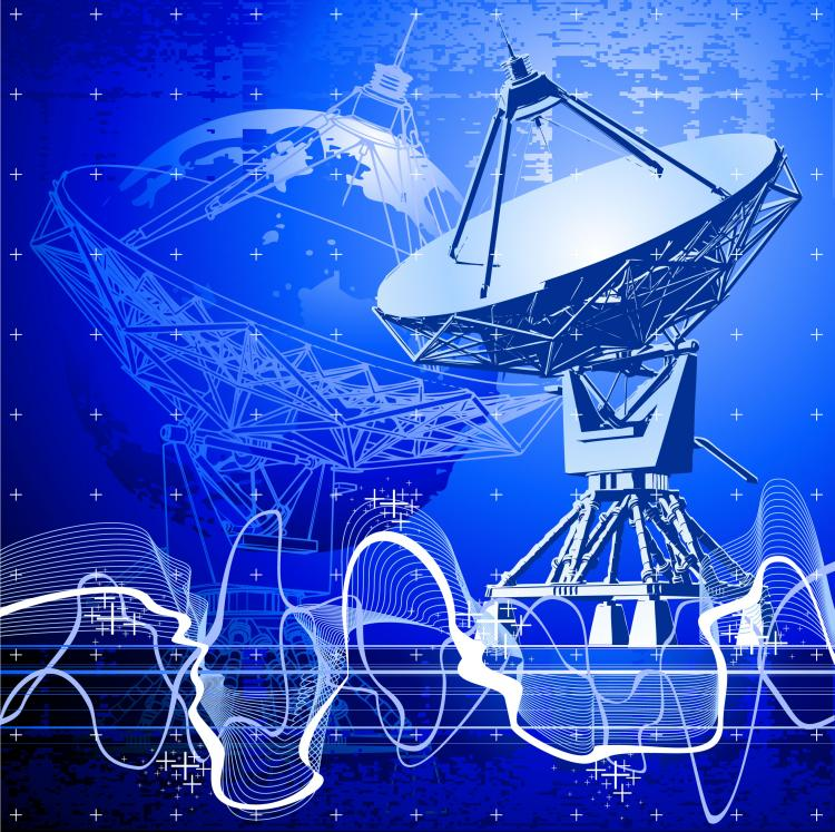 free vector Stunning satellite receiver vector
