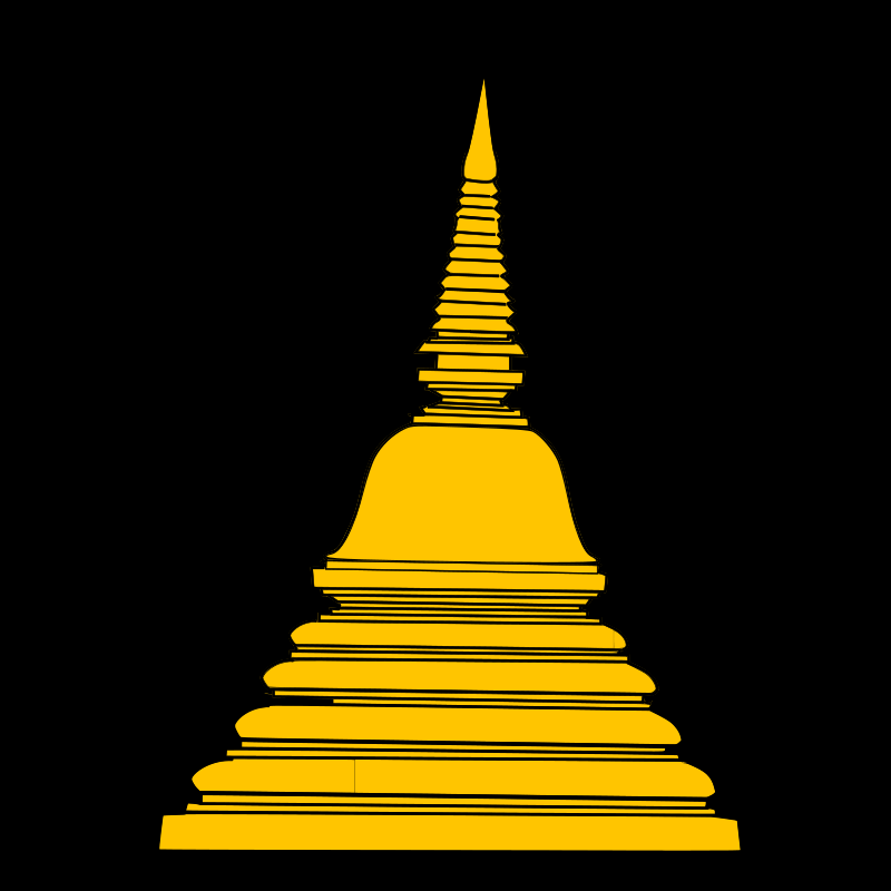 free vector Stupa 2