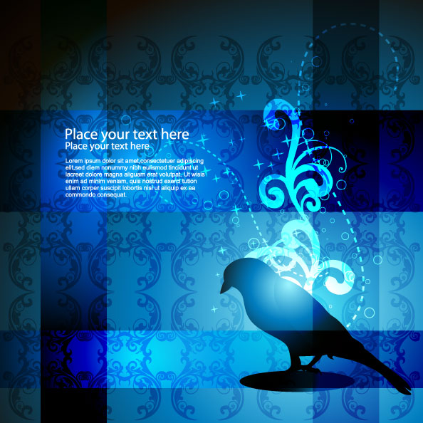free vector Stylish and elegant pattern background 05 vector