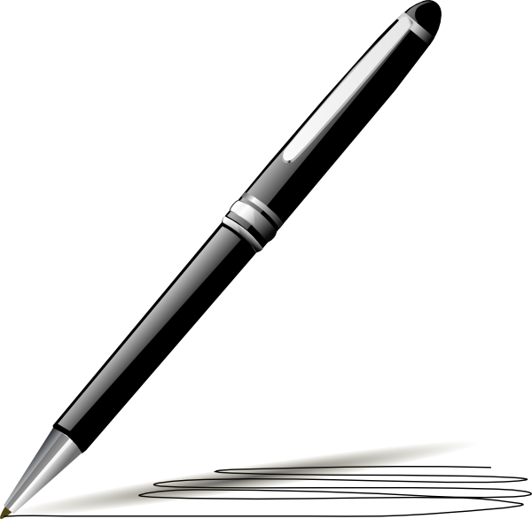 free vector Stylish Pen clip art