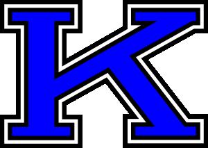 free vector Stylized K clip art