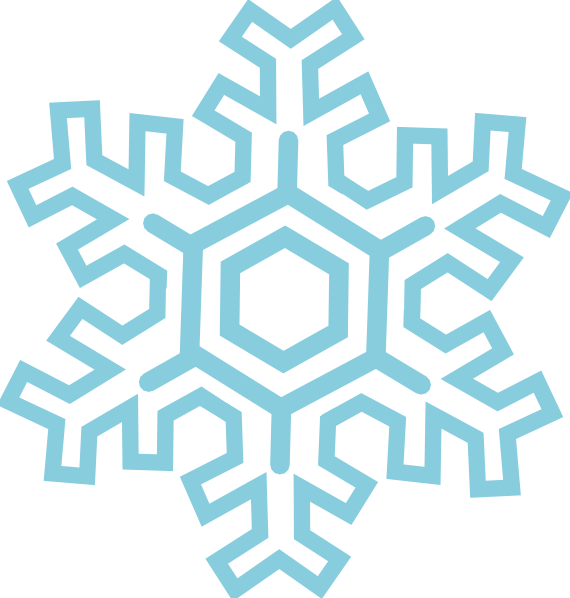 free vector Stylized Snowflake clip art