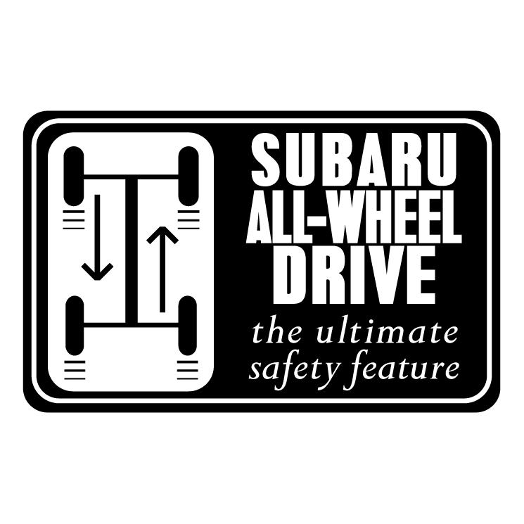 free vector Subaru all wheel drive