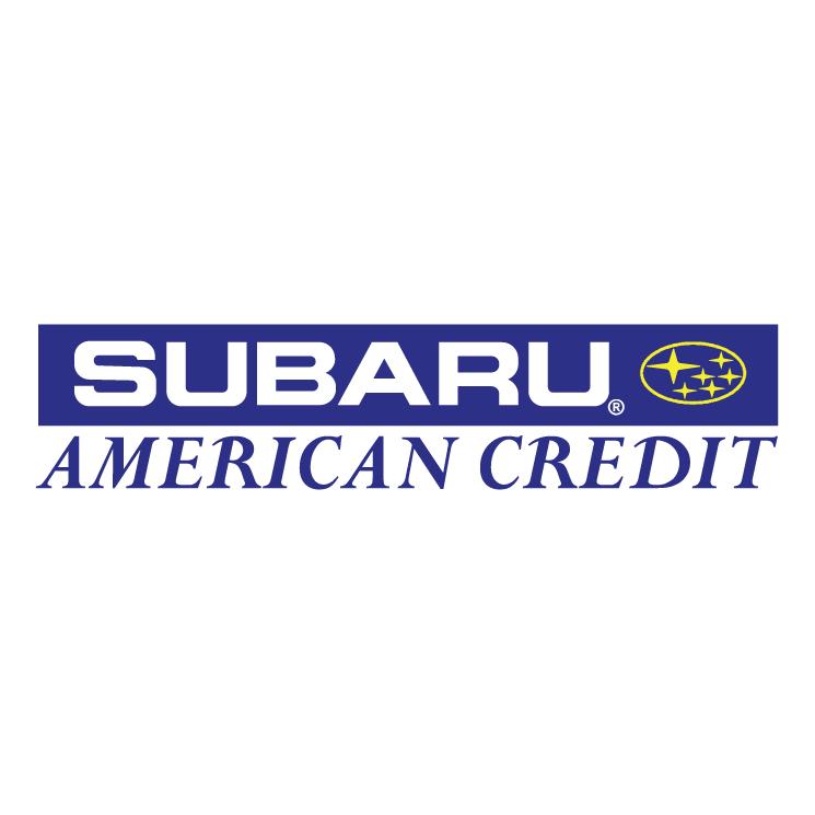 Subaru Logo Vector Subaru American Credit Vector