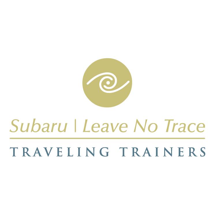 free vector Subaru leave no trace
