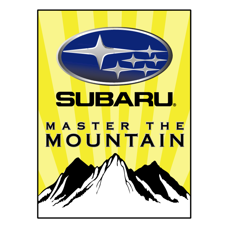 free vector Subaru master the mountain