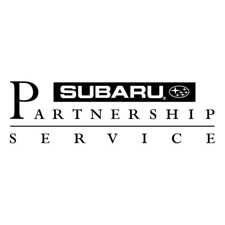 free vector Subaru partnership service