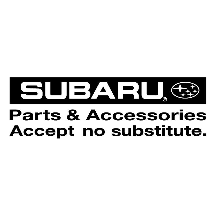 free vector Subaru parts accessories 0