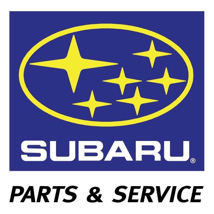 free vector Subaru parts service 0