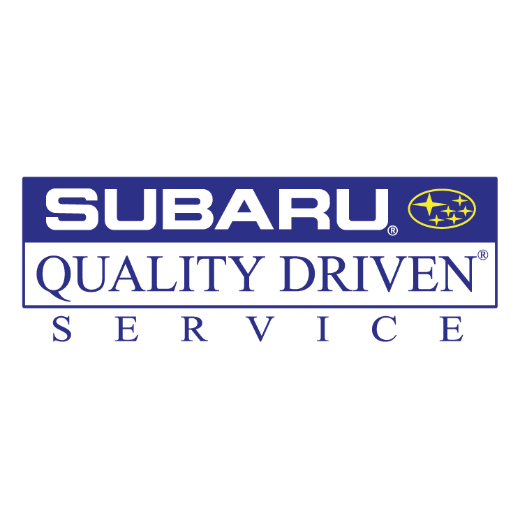 free vector Subaru quality driven service