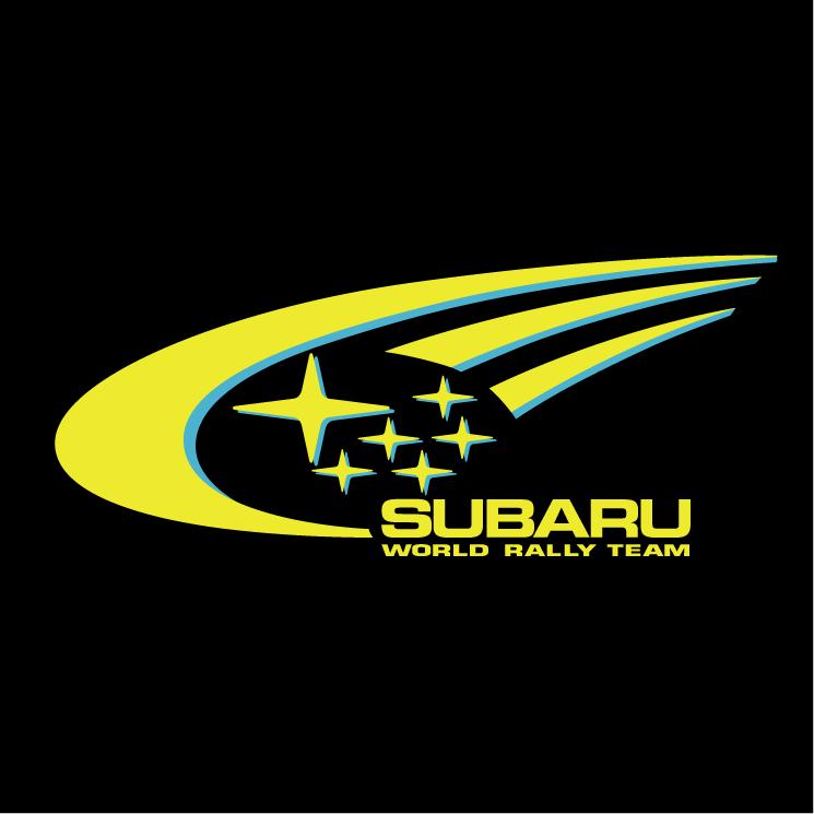 free vector Subaru world rally team