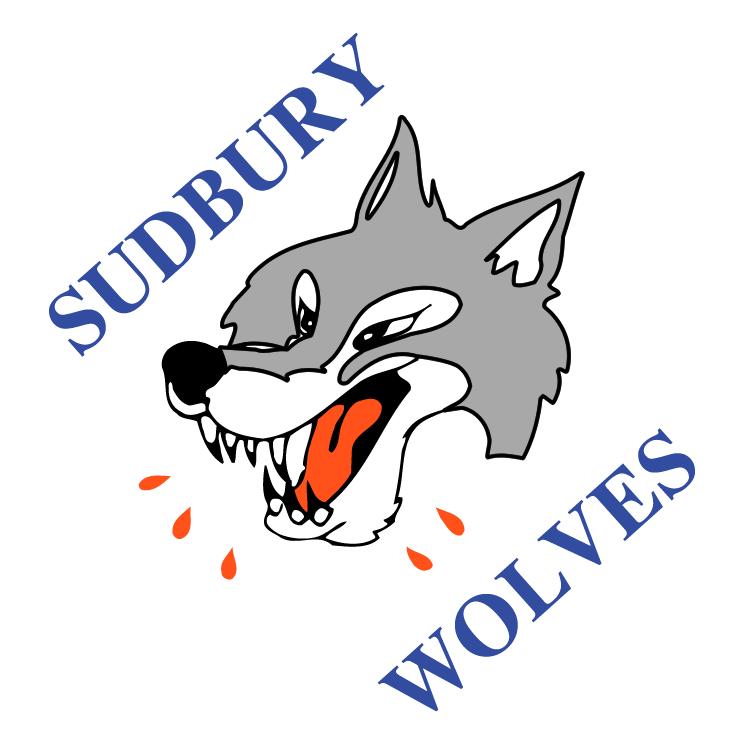free vector Sudbury wolves