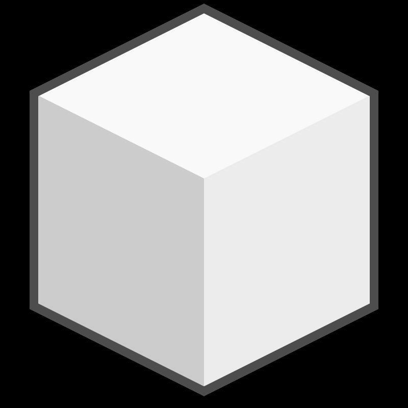 Cube Icon Download Sugar Cube Icon Free Vector