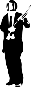 free vector Suit In Riot Gear clip art