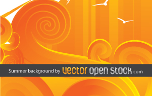 free vector Summer Background 124326