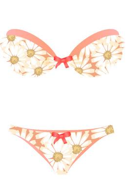 free vector Summer bikini models 48 vector