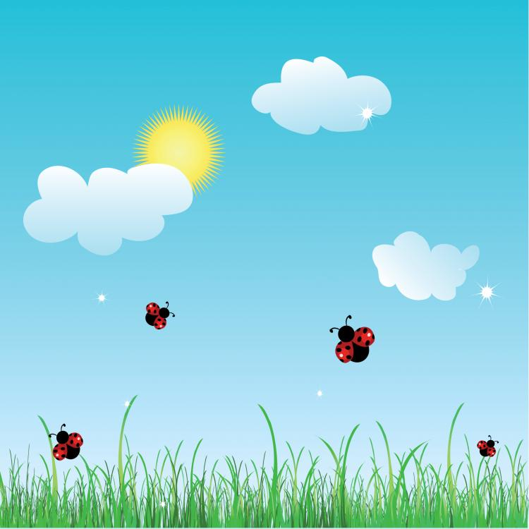 free vector Summer cartoon images 01 vector