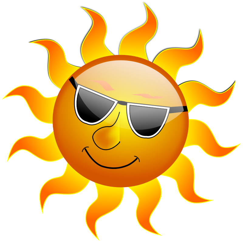 free vector Summer Smile Sun