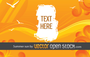 free vector Summer Sun