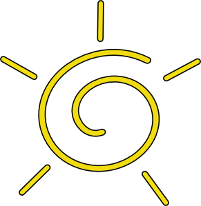 free vector Sun clip art