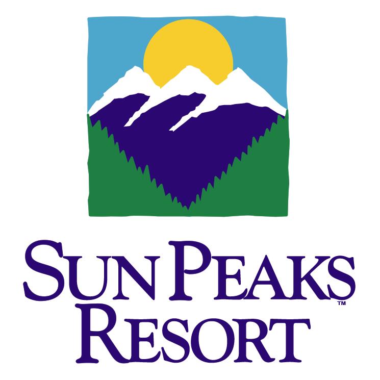 free vector Sun peaks resort