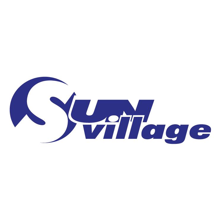 free vector Sun village