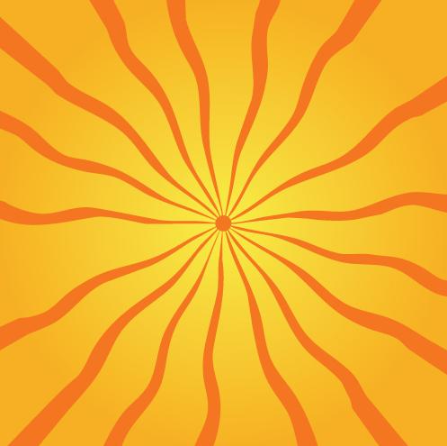 free vector Sunbeam background