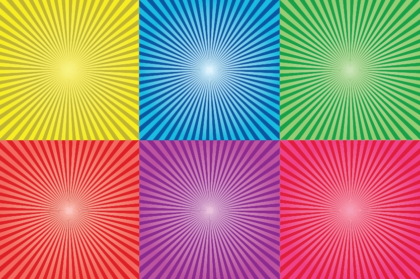 free vector Sunbeam collection 2
