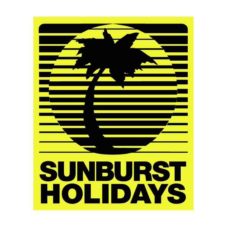 free vector Sunburst holidays