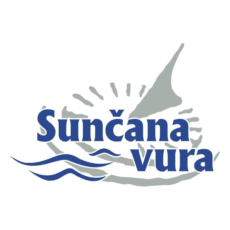 free vector Suncana vura