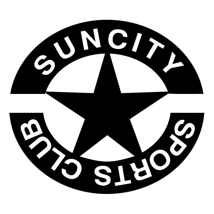 free vector Suncity sports centre