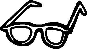free vector Sunglasses Outline clip art