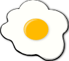 free vector Sunny Side Up clip art