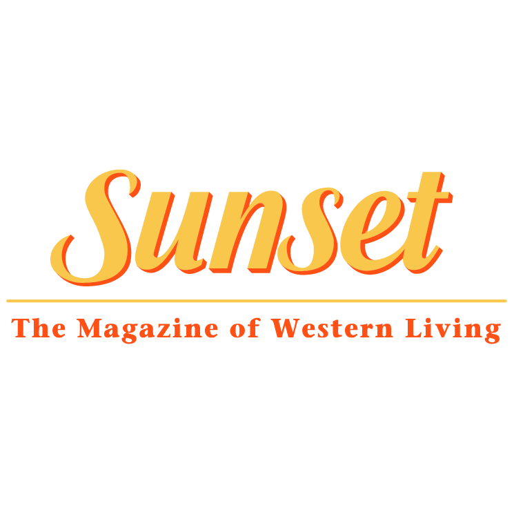free vector Sunset magazine