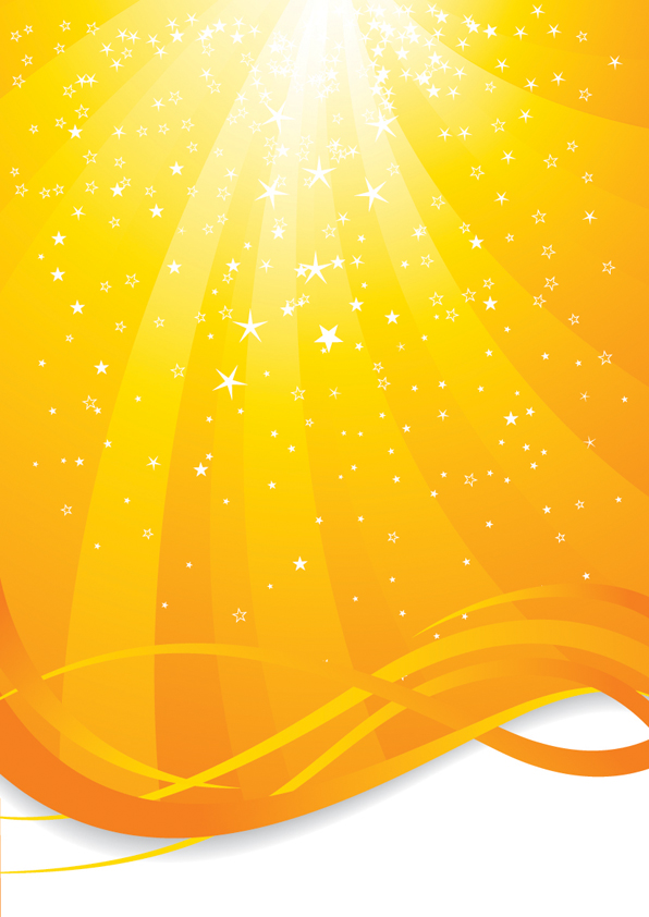 free vector Sunshine background vector